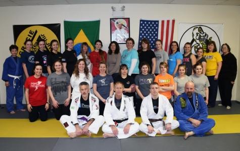 Women's Self Defense Seminar January 30, 2015 Delaware Jiu-Jitsu